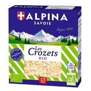 Alpina Savoie Crozets natures bio - Boîte 400g