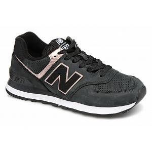 New Balance Wl574 W chaussures noir rose 41 EU