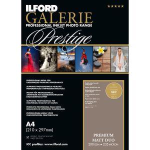 Ilford Galerie Prestige Premium Matt Duo - A4 - 200g - 50F