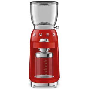Smeg CGF01RDEU Rouge - Moulin à café