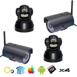 Securitegooddeal Surveillance maison caméra wifi intérieure extérieure