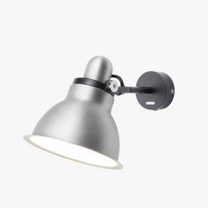 Anglepoise Applique Type 1228 / Metallic noir,argent en métal