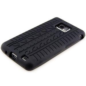 Kwmobile 10811 - Etui en silicone élégant pour Samsung Galaxy S2 i9100 et S2 PLUS i9105