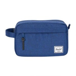 Herschel Trousse de toilette Chapter Eclipse Crosshatch bleu