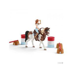 Schleich Kit d'équitation western d'horse club hannah