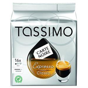 Tassimo 16 dosettes T-Discs Carte Noire Expresso Classic