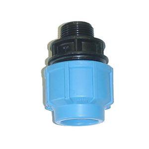 sferaco 1001040 - Raccord droit male D40-33x42 polypropylène