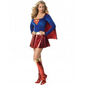 Rubie's Sexy Supergirl - Taille XS - I-888239XS - Déguisement adulte