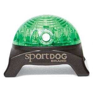 Sportdog Lampe de repérage - Vert - Pour chien