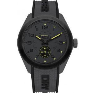 Superdry Montre SYG214E - Montre Bicolore Grise Et Noire Homme