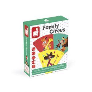 Janod Jeu des 7 familles Cirque