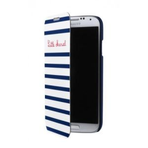 """Little Marcel LHOLMGS4F05 - Étui portefeuille """"Marinière"""" pour Samsung Galaxy S4"""