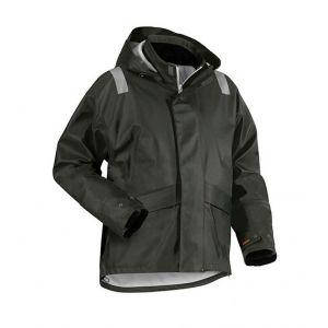 Blaklader Veste de pluie tissu lourd - 43022003 - Vert armée XXXL