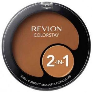 Revlon Colorstay N°410 Cappucino - Fond de teint compact et anticernes 2-en-1