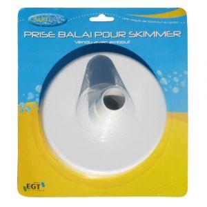 Sunbay Socle prise balai Ø32/38mm (pour piscines bois - Gré