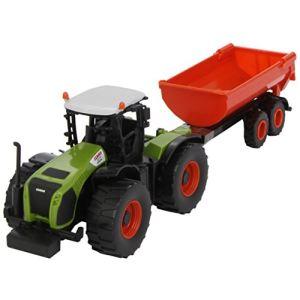 Norev 431000 - Tracteur Claas et sa remorque nouveau - Echelle 1:43
