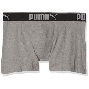 Puma Vêtements intérieurs -underwear Lifestyle Sueded 3 Pack - Grey Melange - S