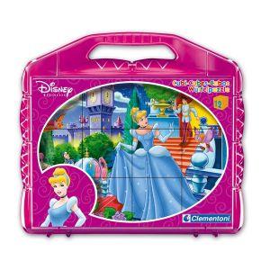 Clementoni Puzzle 12 cubes Disney Princess