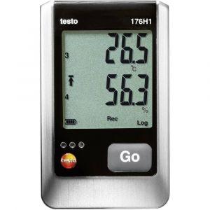 Testo Enregistreur de Température, humidité -20 à +70°C -40 à +70 °C 0 à 100 % RH 176 H1