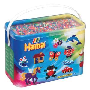 Hama Baril de 30000 perles à repasser Mixte (208-68)