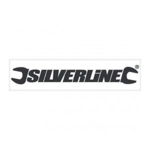 Silverline 868849 - Autocollant pour vitrine 100 cm noir (intérieur)