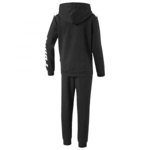 Puma Rebel Bold Sweat Suit FL B Survêtement Garçon, Black, 5/6 A