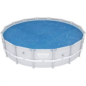 Bestway Bâche pour piscine tubulaire ronde - Diam. 462 cm
