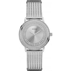 Guess W0836L - Montre pour femme avec bracelet en acier