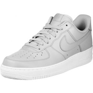Nike Air Force 1 07 chaussures gris blanc T. 43,0