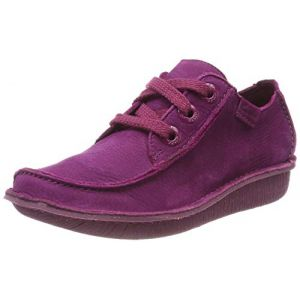 Clarks Funny Dream Rouge framboise - Taille 41