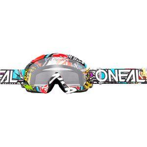 O'neal Masque cross B10 Crank multicolor-écran clair