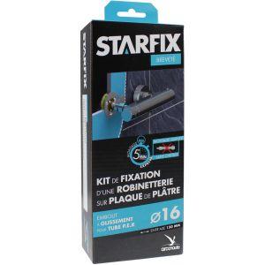 """Arcanaute Sortie de cloison STARFIX PER Ø16 Raccords à Glissement - Femelle 1/2"""""""" (15/21) pour robinetterie entraxe 150 mm"""