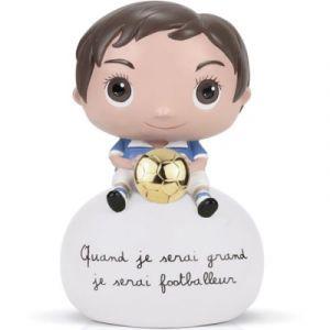 Isabelle Kessedjian Tirelire Footballeur Ballon Or