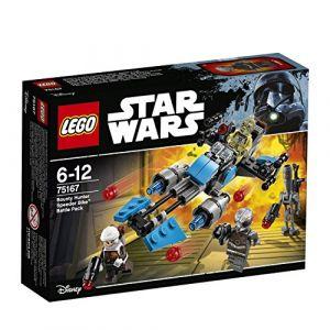Lego 75167 - Star Wars : Pack de combat la moto Speeder du Bounty Hunter