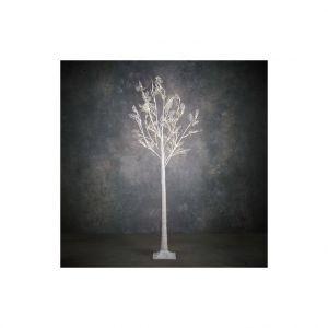Arbre lumineux blanc classic 64 LED avec minuteur H 180 x Ø 100 cm
