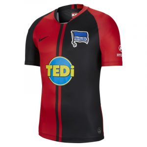 Nike Maillot de football Hertha BSC 2019/20 Stadium Away pour Homme - Rouge - Taille XL - Male