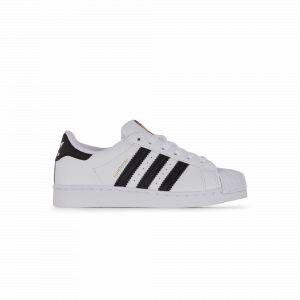 Adidas Superstar Enfant Blanche Et Noire 29 Baskets