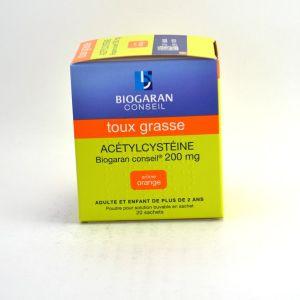 Biogaran Acétylcystéine 200 mg - 20 Sachets