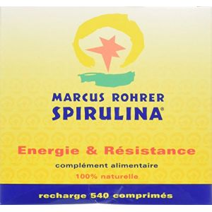 Marcus Rohrer Spiruline Recharge (540 comprimés)