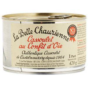 La Belle Chaurienne Cassoulet au confit d'oie - La boîte de 420g