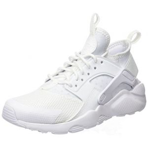 Nike Air Huarache Run Ultra (GS), Baskets Garçon, Blanc (White/White-White), 36 EU
