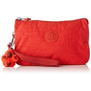 Kipling Creativity Xl, Porte-monnaie femme, Rouge (Active Red)