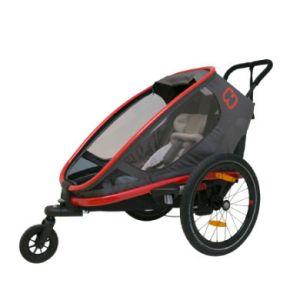 Hamax Remorque vélo Out back One - Rouge/Gris Remorques pour enfant