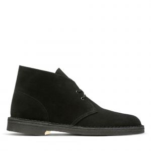 Clarks Originals - Desert Boot - Bottes - Homme - Noir (Black) - 44 EU