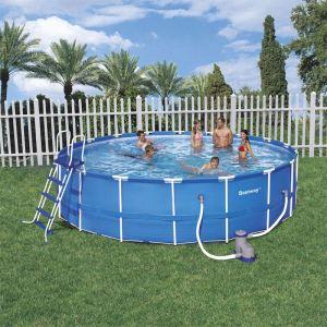 Bestway 56050 - Set piscine tubulaire ronde Ø 366 x 76 cm