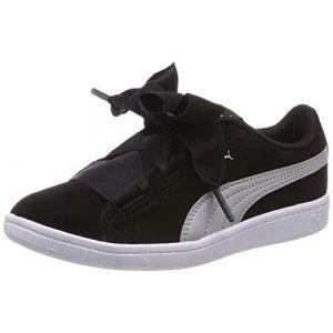 Puma Chaussures enfant Chaussure mode fillette Vikky Ribbon Noir - Taille 28,30,31,32,34