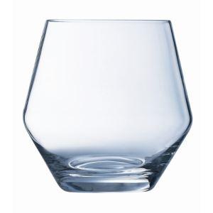 Cristal d'Arques 6 gobelets forme bas Ose en cristal (42 cl)