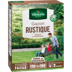 Vilmorin Semences de gazon rustique - 3 kg