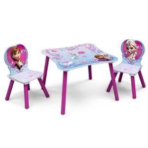 Delta Children Table et chaises en bois La Reine des Neiges
