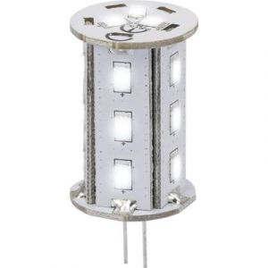 Renkforce Ampoule LED G4 9283c71b à broches 2.4 W = 20 W blanc froid (Ø x L) 22 mm x 46.2 mm EEC: A 1 pc(s)